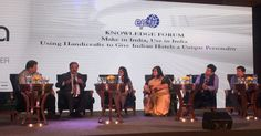 Taking Indian Handicrafts To New Heights :: Using Handicrafts To Give Indian Hotels A Unique Personality...at BW Hotelier Indian Hospitality Awards and Summit, visited by top 600 hoteliers from all over India.