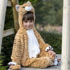Children's Tabby Cat Dress Up Costume - pretend play & dressing up