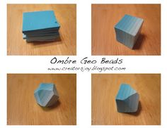 Creator's Joy: Faceted Geo beads polymer clay tutorial