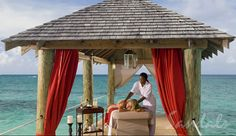 On Vacation - Massages on the Cabana with Red Lane Spa | Sandals Resorts | The Bahamas