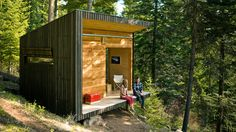 DIY small cabin retreat: $57K, including the land | See how one couple built a retreat in the Oregon wilderness for $10,000