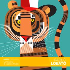 Pablo Will have a solo show of his work in the Illustri Festival in Vicenza, Italy
