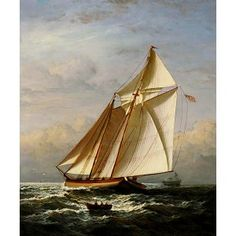 Majesty of Lateen-Rigged Ship Oil Painting for sale on overArts.com