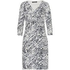 Better Barclay Snake Print Jersey Dress, Grey ($82) ❤ liked on Polyvore featuring dresses, maxi dress, knee length bodycon dress, mini dress, jersey maxi dress and knee-length dresses