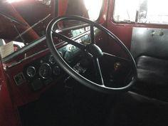 1950 Kenworth ex fire truck Truck Interior, Fire Trucks, Vehicles, Fire Engine, Car, Fire Truck, Vehicle, Tools