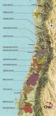 Wine Regions Chile