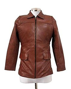 Hunger Games Katniss Everdeen Brown Classic Leather Jacket For Women's (XS)