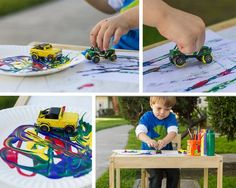 Painting with pre-schoolers - My kids will love painting with matchbox!