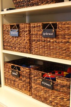 Playroom Storage Tips and Tricks