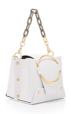 Leather-Paneled Raffia Shoulder Bag by Hunting Season Unique Handbags, Popular Handbags, Cheap Handbags, Handbags On Sale, Handbags Michael Kors, Purses And Handbags, Luxury Handbags, Luxury Purses, Handbags Online