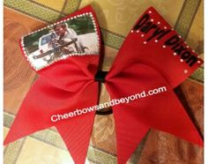 Walking Dead Hair Bow With or without rhinestonesTo order go to cheerbowsandbeyond.com. Follow us on Instagram at cheerbowsandbeyond and facebook at cheerbowsand Beyond.