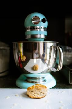 Biscuits with the kitchen aid.  Made these last night for the top of pot pie.  Easy & delicious.