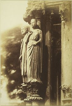Chartres Cathedral (1852 photo)