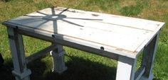 RUSTIC WHITE DESK by toddmanring on Etsy, $600.00