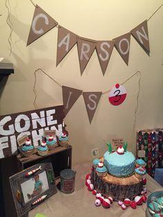 Gone Fishing birthday party theme