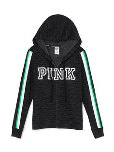 Gray, white, and green PINK hoodie Cute Fall Outfits, Pink Outfits, Outfits For Teens, Victoria Secret Outfits, Victoria Secret Pink, Nike Winter Jackets, Celebrity Boots, Celebrity Style, Pink Wardrobe