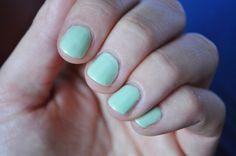 #manicure #mani #manioftheday #motd #nails #nailsoftheday #notd #paznokcie #naillacquer #nailpolish #lacquer #polish #nagellack #mint #green #siouxie #wibo #gellike #wibogellike #mintsorbet