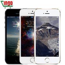 iPhone 5s Original Factory Unlocked Apple iPhone 5s 16GB 32GB 64GB ROM 8MP iOS 9 4.0″IPS 8MP WIFI GPS SIRI WCDMA 3G Mobile Phone