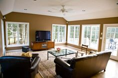 Pictures of Family Room Additions | Family room addition with casement windows in Rocky Hill, CT