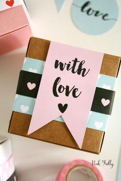 Diy Gift Box, Diy Gifts, Handmade Gifts, Diy Birthday, Birthday Cards, Diy Crafts For Home Decor, Gift Store, Diy Cards, Diy For Kids