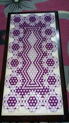 Seed Bead Crafts, Beaded Crafts, Diy Crafts, Peacock Crochet, Beaded Banners, African Flowers, Bead Jewellery, Crochet Dolls, Bead Art