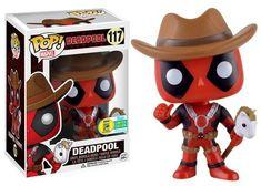 SDCC 2016 Wave 6 Pop! Marvel: Deadpool - Cowboy Deadpool