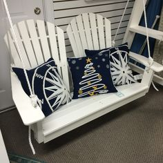 Carolina Casual OBX Curved Collection Porch Swing