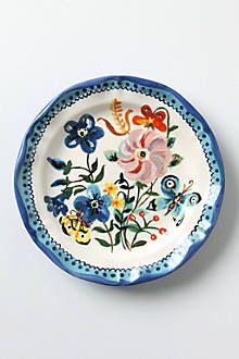 Champignons Plate - anthropologie.com