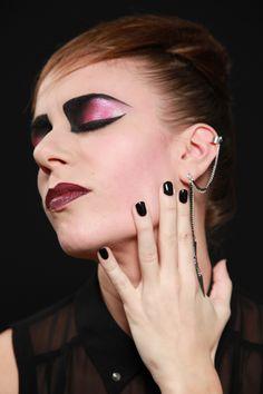 punk make-up (mua: Karolien Olaerts) Halloween Face Makeup, Make Up, Punk, My Style, Fashion, Moda, Fashion Styles, Makeup, Beauty Makeup