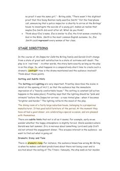 An inspector-calls-revsion-pack An Inspector Calls Quotes, An Inspector Calls Revision, English Gcse Revision, Gcse English Literature, Study Habits, Study Tips, A Christmas Carol Revision, Revision Techniques, Student Exam