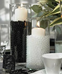 black & white pearls
