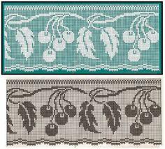 Albüm Arşivi Filet Crochet Charts, Crochet Motifs, Crochet Borders, Crochet Flower Patterns, Thread Crochet, Crochet Designs, Crochet Doilies, Crochet Flowers, Crochet Stitches