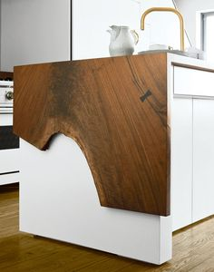 random bit of dark wood could be added to a lot of other things including a drop leaf table or extension to a countertop or bar.