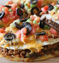 Recipe For Mexican Pizza - A tasty and easy Mexican-style pizza!