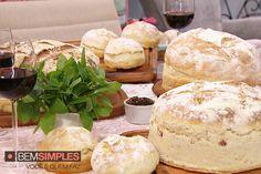 Pão italiano caseiro, por Palmirinha Onofre. http://www.bemsimples.com/br/receitas/66438-pao-italiano-caseiro