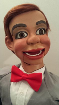 This Jerry Mahoney ventriloquist #doll is custom made...#ventriloquism #ventriloquist #sale Read more <> http://puppet-master.com/jerry-mahoney-doll-dummy-sale/