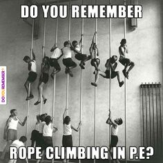 Welcome to the Memory Lane Gallery! Take a trip down memory lane with these wonderful images that will bring you back to your childhood days and have you My Childhood Memories, Sweet Memories, 1970s Childhood, Photo Vintage, Vintage Photos, Gym Classes, Parkour, The Good Old Days, Old Photos