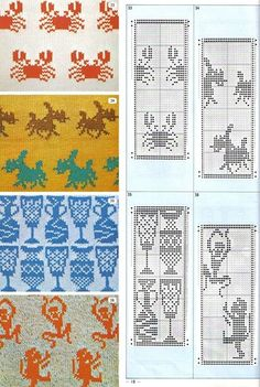 annadrianna - «Pattern Library for Punch Card Knitters № January 1973» on Yandex