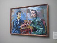 Een bekend schilderij, gemaakt door Oskar Kokoschka.