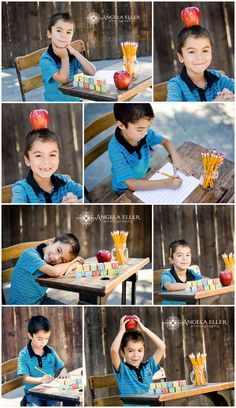 My Levi is going to Kindergarten!! Can't believe how fast time flys!!  I love you bubba! ♥ Back to school portrait session