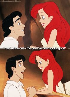 little mermaid. My heart just melted.