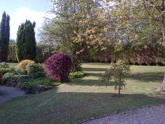 Rear gardens at large luxury Derbyshire holiday cottage. #holiday #cottages #peak district  www.offcotegrange.com