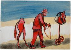 Unusual Art, Polish, Paintings, Watercolor, Artists, Contemporary, Drawings, Board, Illustration