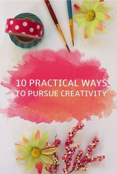 A collection of DIY ideas to explore your own creativity for the New Year, to inspire yourself and live life more openly.