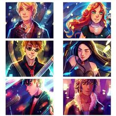 Characters of TMI
