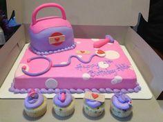 Imgs For > Doc Mcstuffins Cake Doc Mcstuffins Cupcakes, Doc Mcstuffins Birthday Cake, 3rd Birthday Parties, Birthday Fun, Third Birthday, Frozen Birthday, Birthday Cakes, Birthday Ideas, Girl Cakes