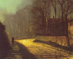 The Lovers ~ John Atkinson Grimshaw