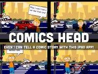 """""""Comics Head"""" - A Haiku Deck by Kathy Schrock #setyourstoryfree"""