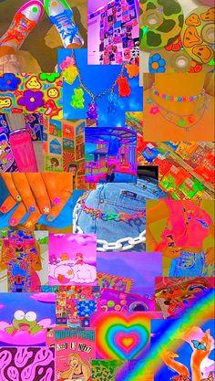 Retro Wallpaper Iphone, Hippie Wallpaper, Rainbow Wallpaper, Iphone Wallpaper Tumblr Aesthetic, Kids Wallpaper, Aesthetic Wallpapers, Aesthetic Pastel Wallpaper, Kawaii Wallpaper, Photographie Indie