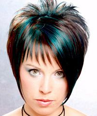 Short Blue Hair Color This is right up my ailey... :)